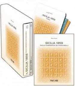 SICILIA 1859 . TAVOLE COMPARATIVE DEI FRANCOBOLLI