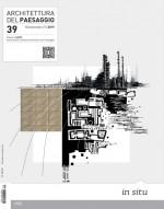 Architettura del Paesaggio n . 39 - Rivista