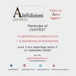 AE CONTEST 2020 Tra giornalismo e letteratura: IL REPORTAGE