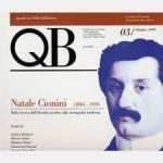 QB VOL 3 – Natale Cionini 1884-1919