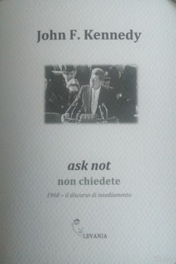 ask not non chiedete