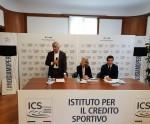 Il presidente dell'Istituto per il Credito Sportivo Andrea Abodi alla presentazione del libro di Gn Media sugli eSports