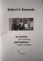 on racism and violence del razzismo e della violenza